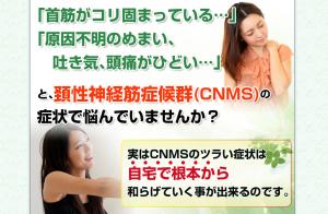 頚性神経筋症候群(CNMS)改善プログラム 小沢国寛の効果口コミ・評判レビュー