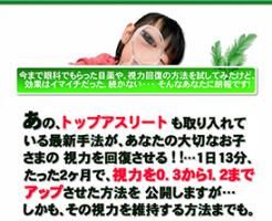 1日たったの13分でみるみるよくなる視力回復法 田中謹也の効果口コミ・評判レビュー