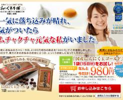 にんにく卵黄のお試しセット販売 山田一郎の効果口コミ・評判レビュー