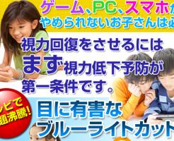 +0.5度付ブルーライトカット眼鏡 田中謹也の効果口コミ・評判レビュー